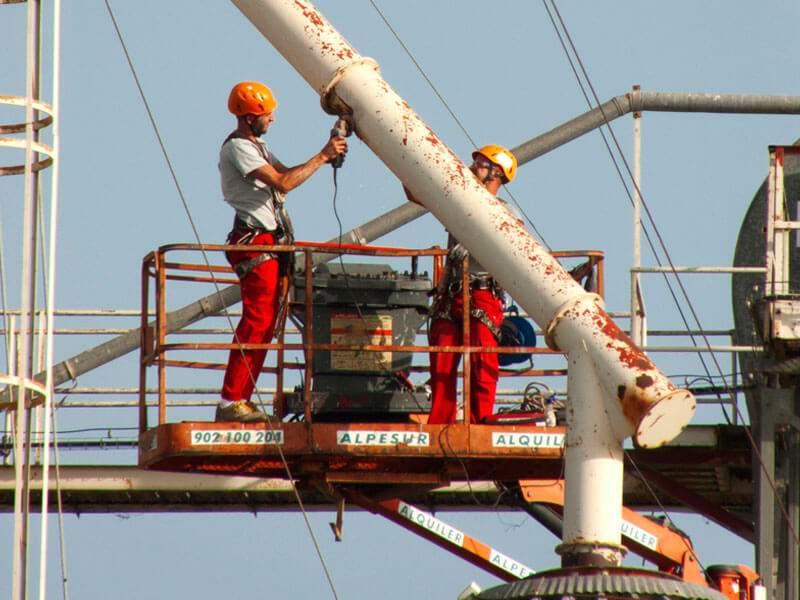 Mantenimiento Industrial - Tecnika Trabajos Verticales