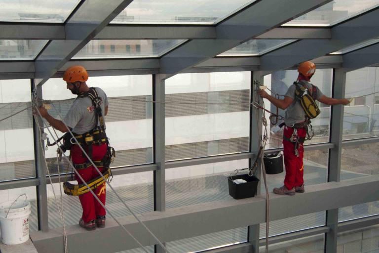 EPIS obligatorios en trabajos verticales