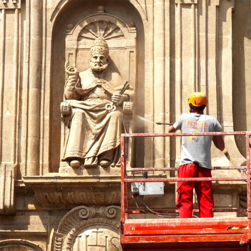 limpieza y restauración de fachadas